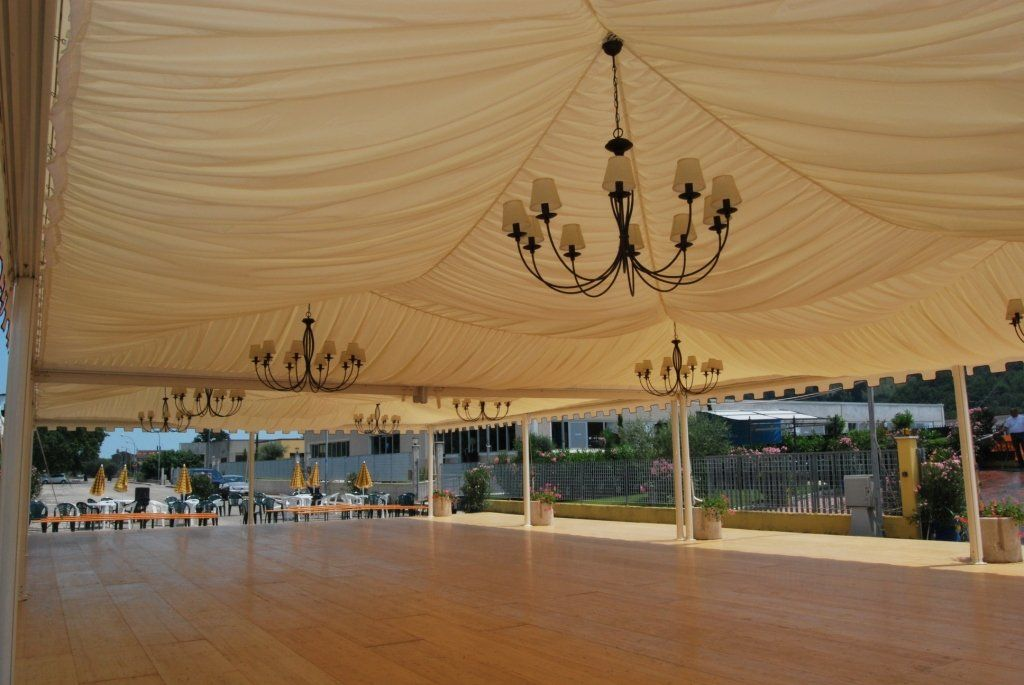 The rental of facilities and equipment for events